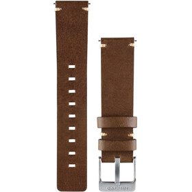 Garmin Vivomove Lederarmband dark brown